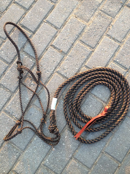 K1.   Rope Halter / Lead Rope